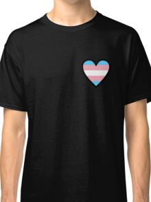 Trans Pride - Transgender At Heart Classic T-Shirt