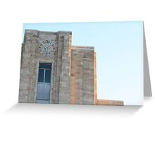 Courthouse Time Greeting Card