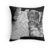 Birch Bark... Throw Pillow