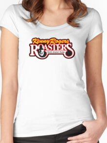 Kenny Rogers Roasters Women's Fitted Scoop T-Shirt