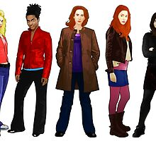 Doctor Who - The Companions by Chris Singley