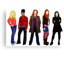 Doctor Who - The Companions Canvas Print