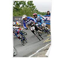 BMX Racing Poster