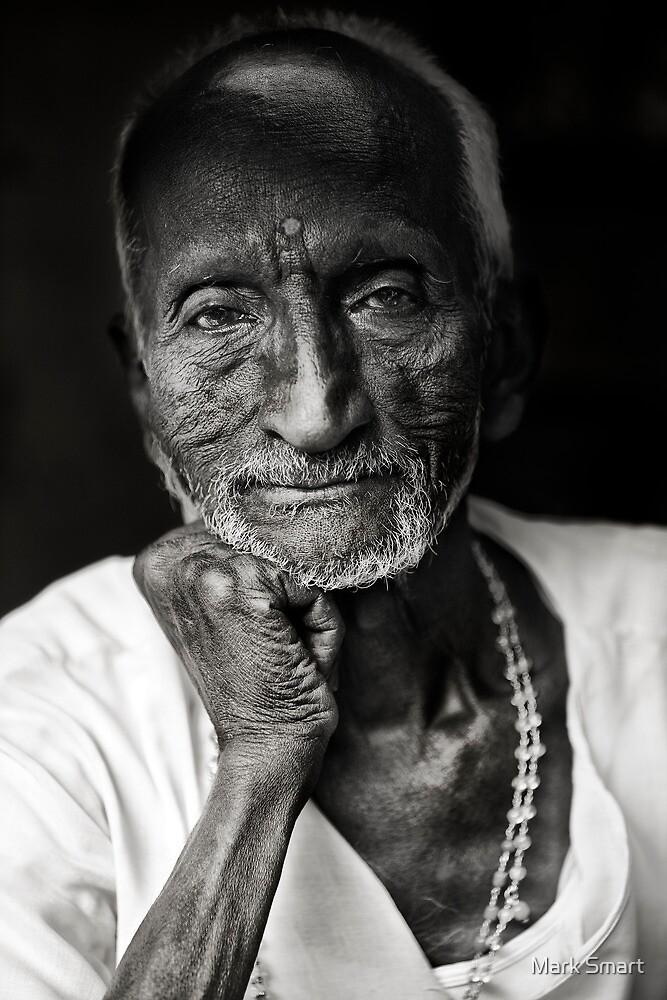 Delhi shopkeeper by Mark Smart