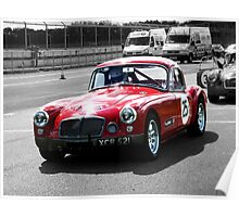 Classic MG - Castle Combe Poster