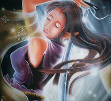 warrior girl by artisticfury