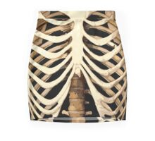 Skeleton Chest Mini Skirt