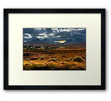 The Braes of Achnahaird, by Achiltibuie, far North West of Scotland. Framed Print