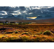 The Braes of Achnahaird, by Achiltibuie, far North West of Scotland. Photographic Print