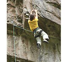 Gorge climbing Photographic Print