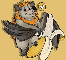 Batty About Bananas by HobbitonToBree