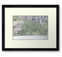 Water And Land Framed Print