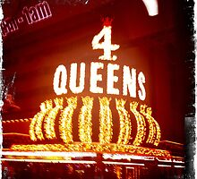 Four Queens Casino, Downtown Las Vegas by Sarah Louise English