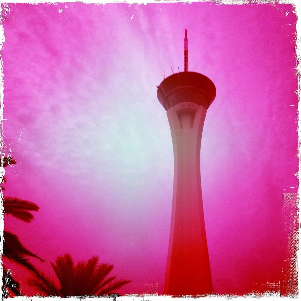 Stratosphere Hotel, Las Vegas by Sarah Louise English