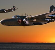 Red Sky at Morning - USAAF 312BG Version by Mark Donoghue