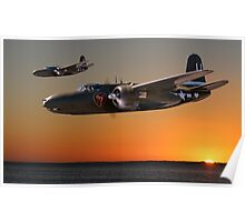 Red Sky at Morning - USAAF Version Poster
