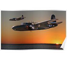 Red Sky at Morning - USAAF 312BG Version Poster
