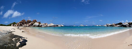 "Virgin Gorda, Tortola - ""The Baths"" - Panoramic by Jonathan Bartlett"