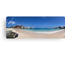 "Virgin Gorda, Tortola - ""The Baths"" - Panoramic Canvas Print"