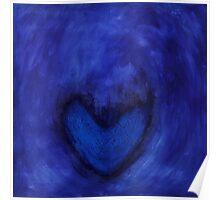 angel blue. angel azul. ange bleu. Poster