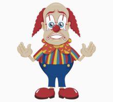 sad clown by artisticfury