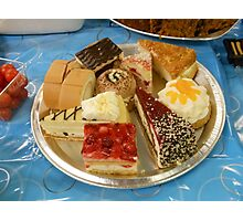Assorted Cakes Photographic Print