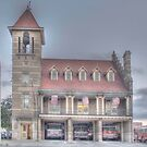 The Court Street Firehouse - Cortland, NY by Edith Reynolds