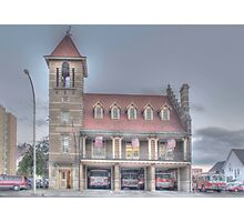 The Court Street Firehouse - Cortland, NY Photographic Print