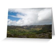 Kerry Mountains Killarney lakes in Ireland 21 Greeting Card