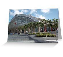 Lime Street Railway Station, Liverpool, Merseyside Greeting Card