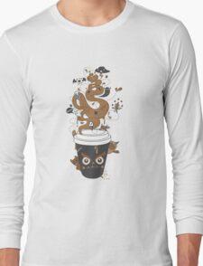 Awaken Coffee Long Sleeve T-Shirt
