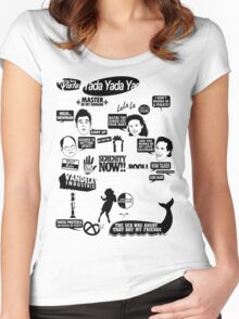 Seinfeld Quotes Women's Fitted Scoop T-Shirt