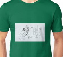 Arrested and not a danger to self or others Unisex T-Shirt