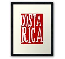 Costa Rica II Framed Print