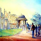 Brighton Pavillion, Morning Sun by LorusMaver