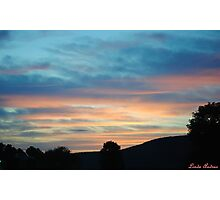 "'Red sky"" Photographic Print"