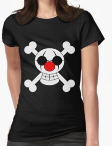 Buggy The Clown Jolly Roger Womens Fitted T-Shirt