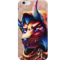 Hooded Beast iPhone Case/Skin