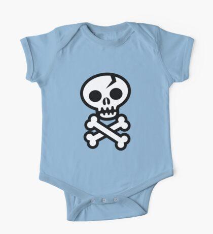 Skull & Crossbones One Piece - Short Sleeve