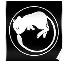 Mew Ouroboros - white - Poster