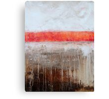 Earth Umber Canvas Print