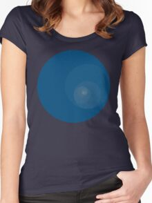 Golden Ratio Circles Women's Fitted Scoop T-Shirt
