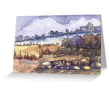 Iscor city skyline Greeting Card