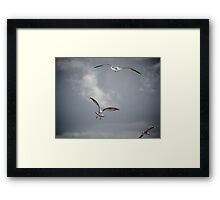 Air Traffic Framed Print