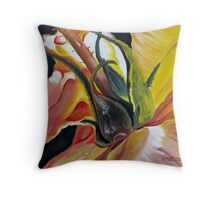 Kelly's Rose Throw Pillow