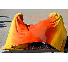 Wrapped in Color, Toronto, Ontario Canada Photographic Print
