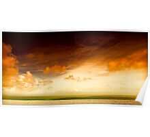 Dungeness Sky Poster
