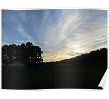Iowa Summer Sky- Pre Sunset Poster