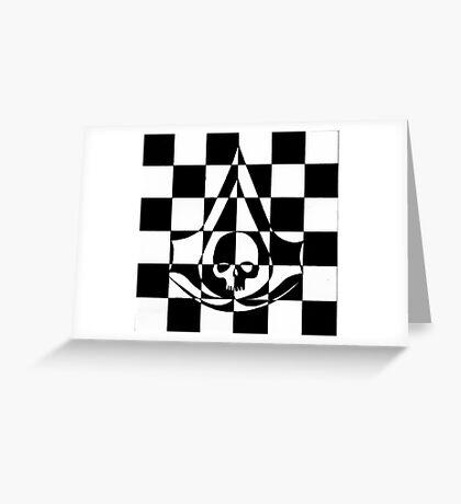 Black Flag Greeting Card