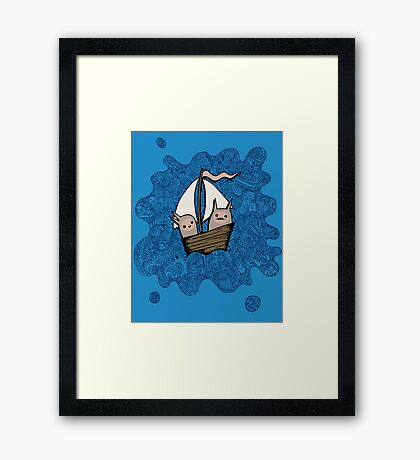 The Boat Trip Framed Print